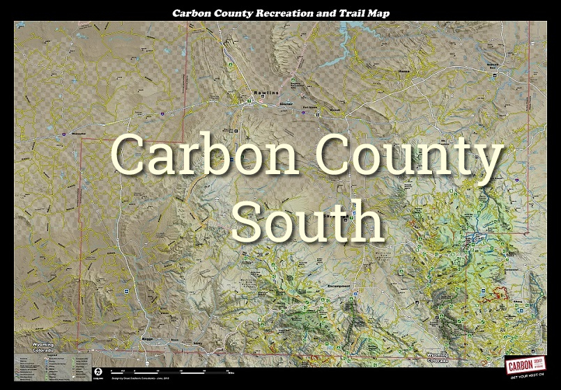 carbon county map south